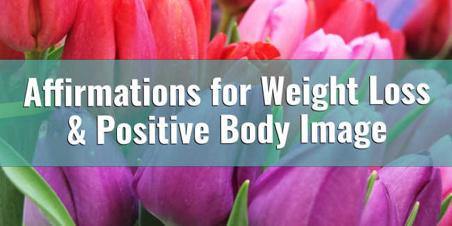 Affirmations for Weight Loss